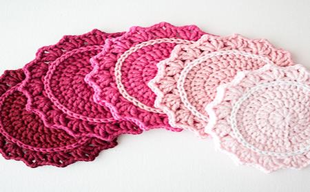Modelos de posavasos en ganchillo el blog de lanas net - Posavasos de ganchillo ...