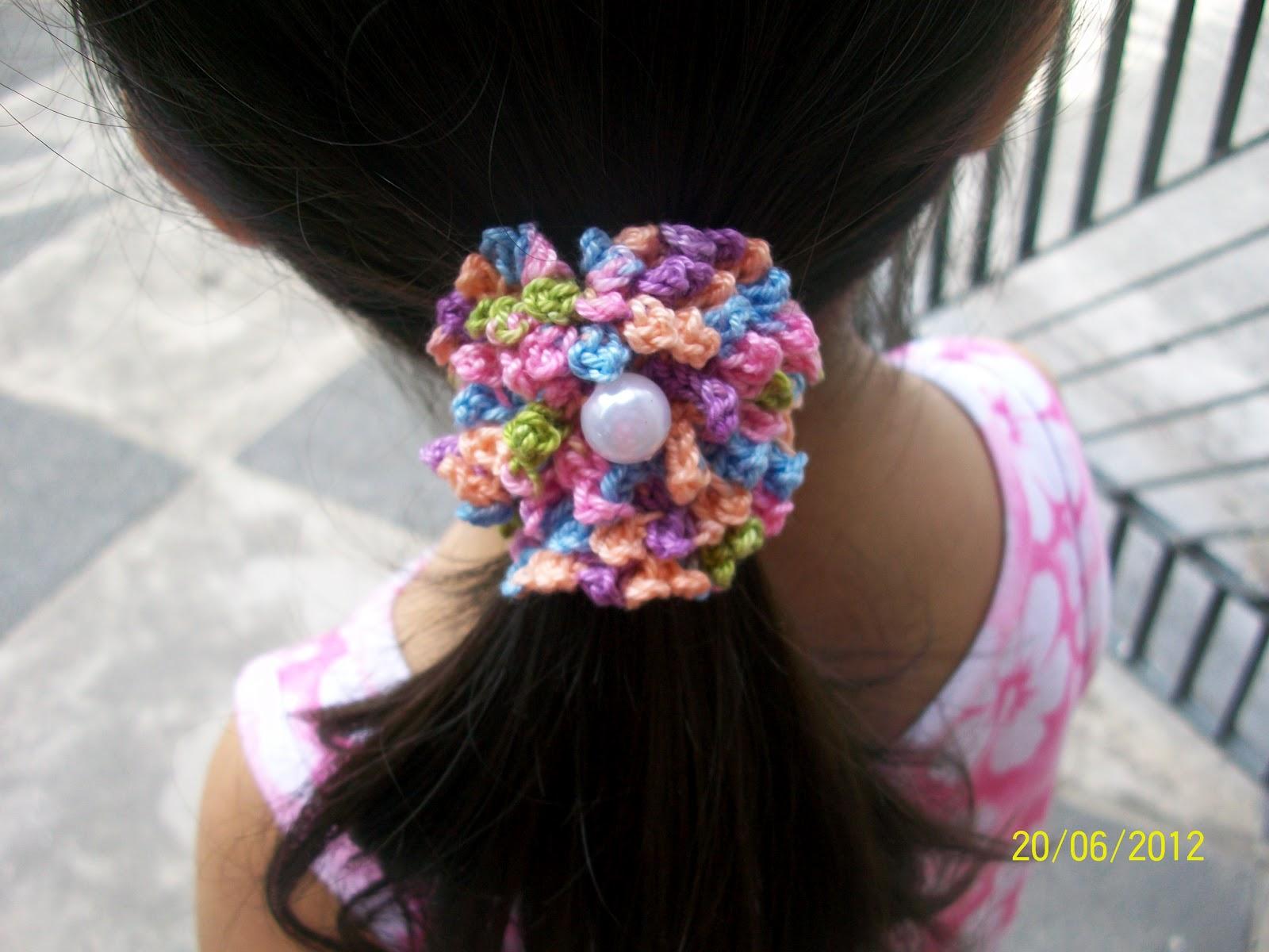Modelos de accesorios para el cabello en ganchillo » El blog de ...