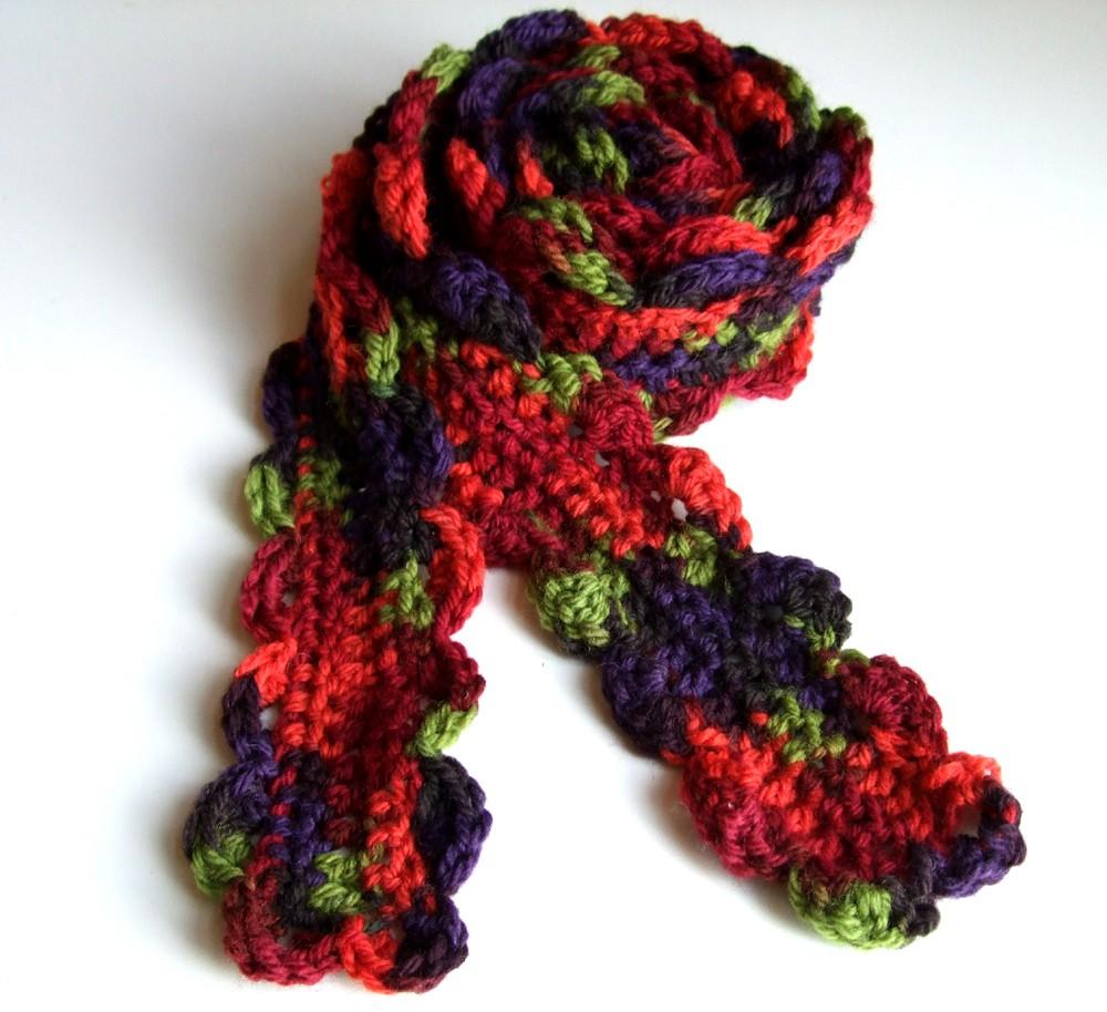 Modelos de bufandas en ganchillo » El blog de Lanas.NET