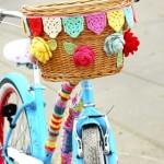 Accesorios tejidos para bicicletas