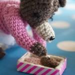 Cómo tejer pestañas