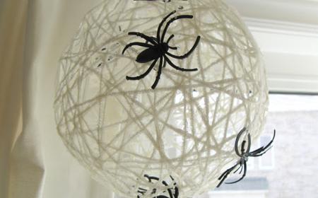 Colgante de arañas para Halloween