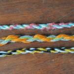 Accesorios de lana enrollada