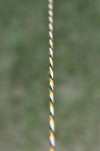 kids camp craft twisted yarn