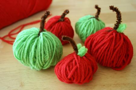Manzanitas de lana